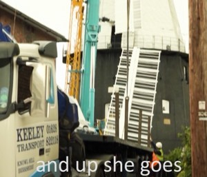 Up she goes - Link to Video